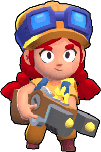 jessie, one of the best brawlers in brawl stars
