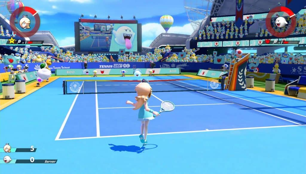 mario tennis aces best family games nintendo switch