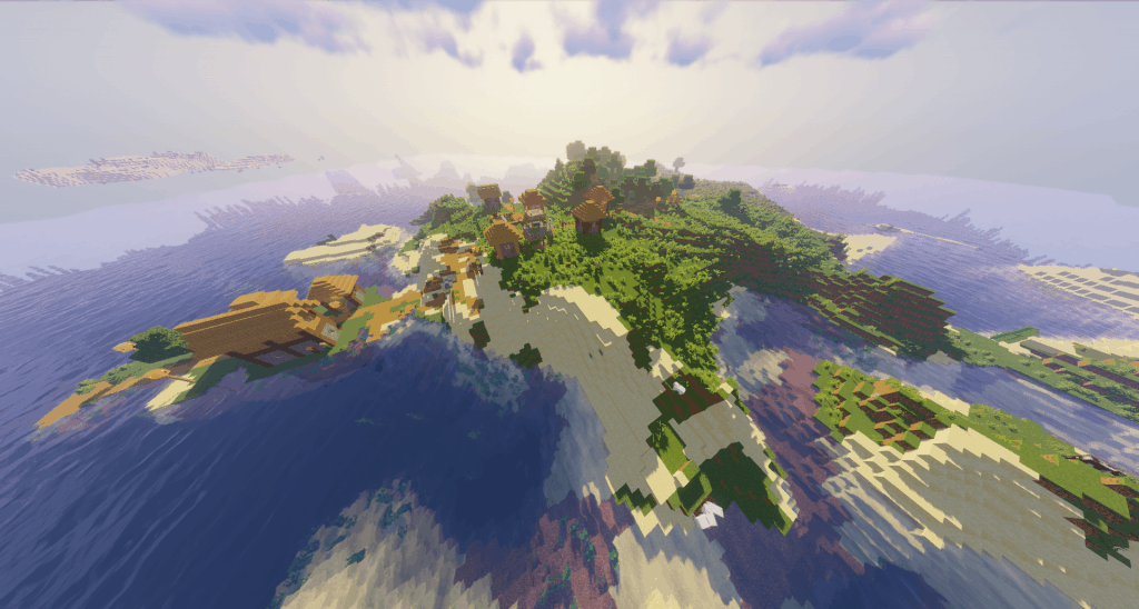 massive islands best island seeds minecraft