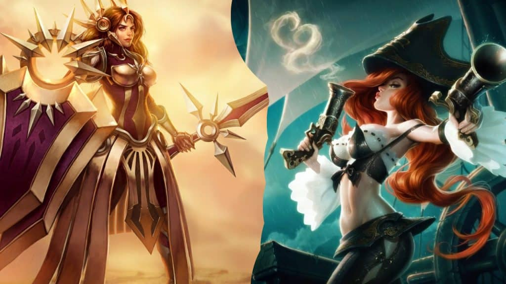 miss fortune leona best bot duo league of legends lol