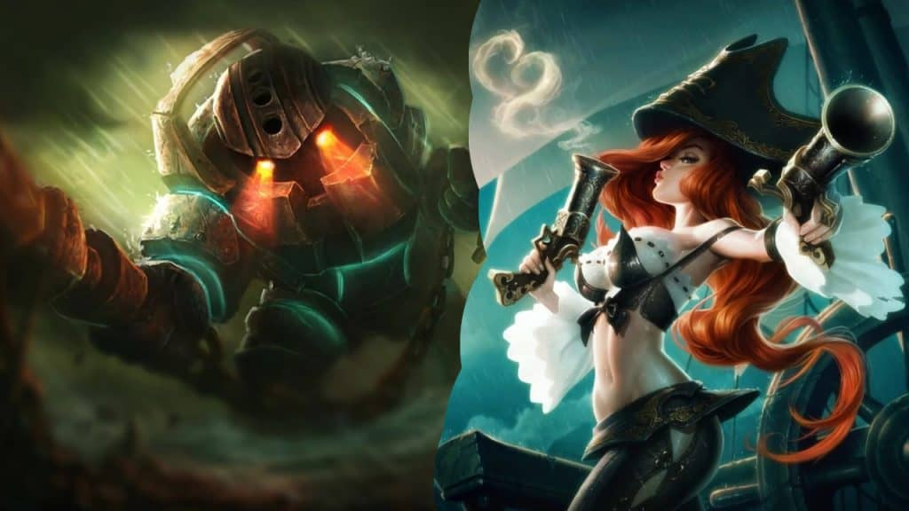 nautilus miss fortune best bot duo league of legends