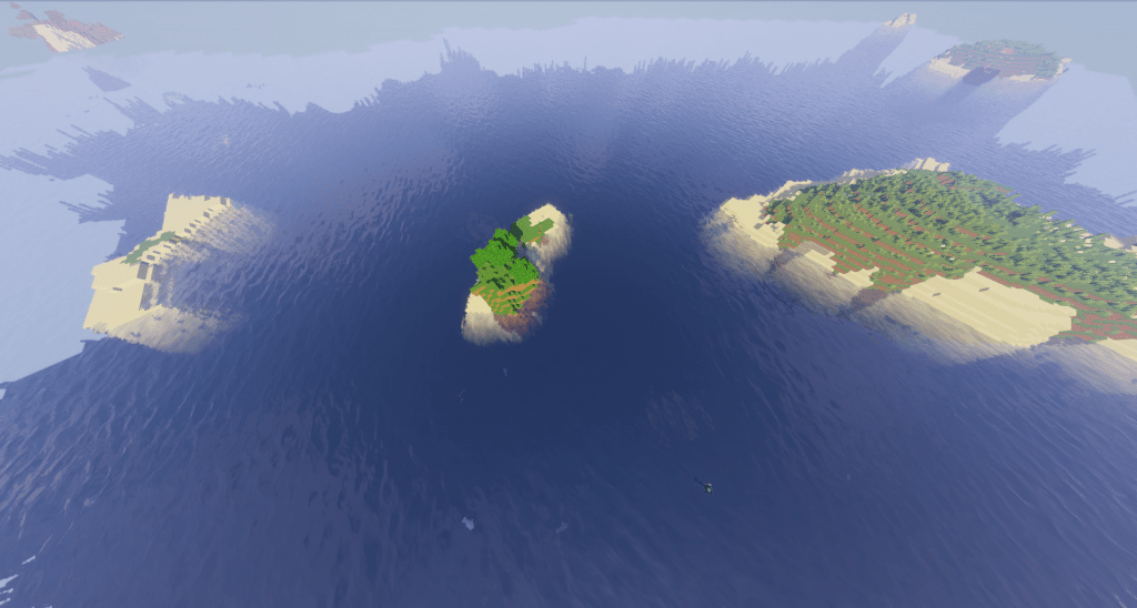 ocean best island seeds minecraft