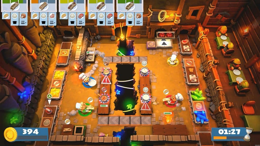overcooked 2 best family games nintendo switch