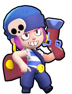 penny, one of the best brawlers in brawl stars