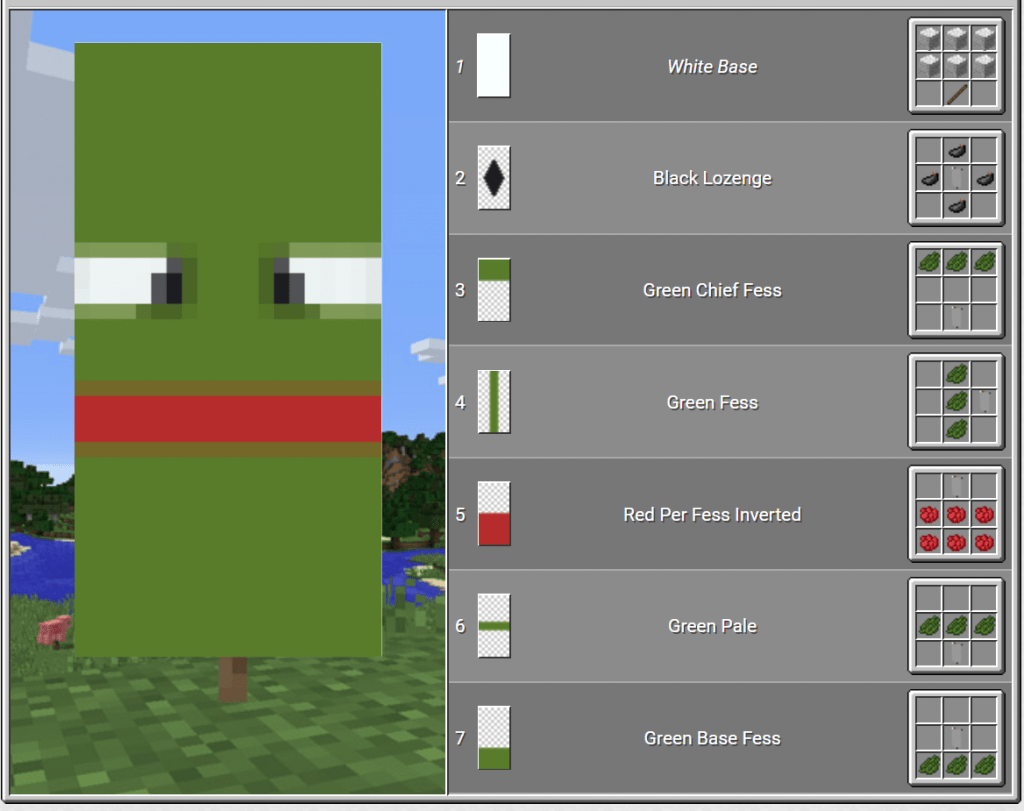 pepe the frog best banners minecraft