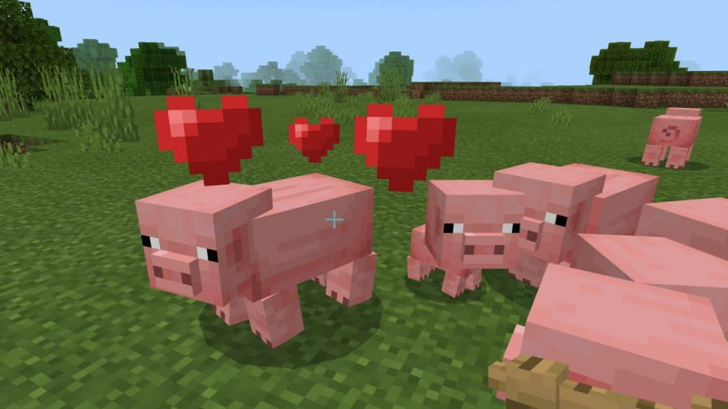 pigs best animals to farm minecraft