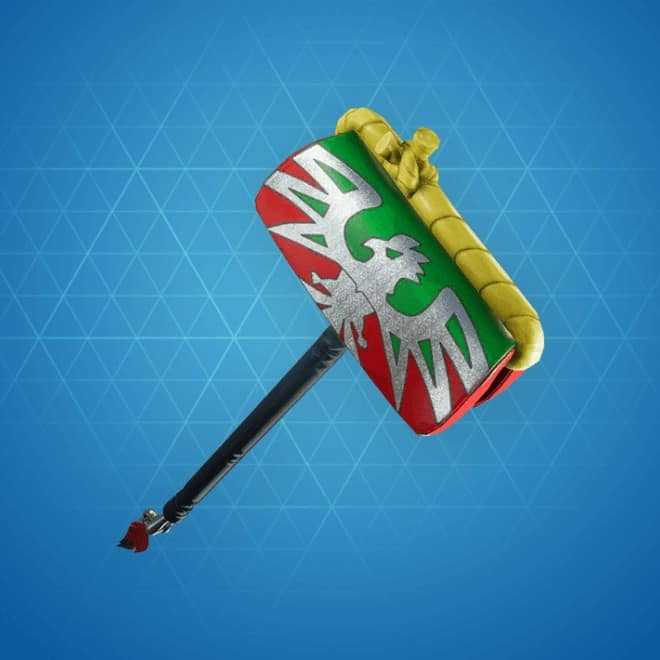piledriver pickaxe rarest skins fortnite