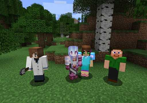play with friends why minecraft is popular