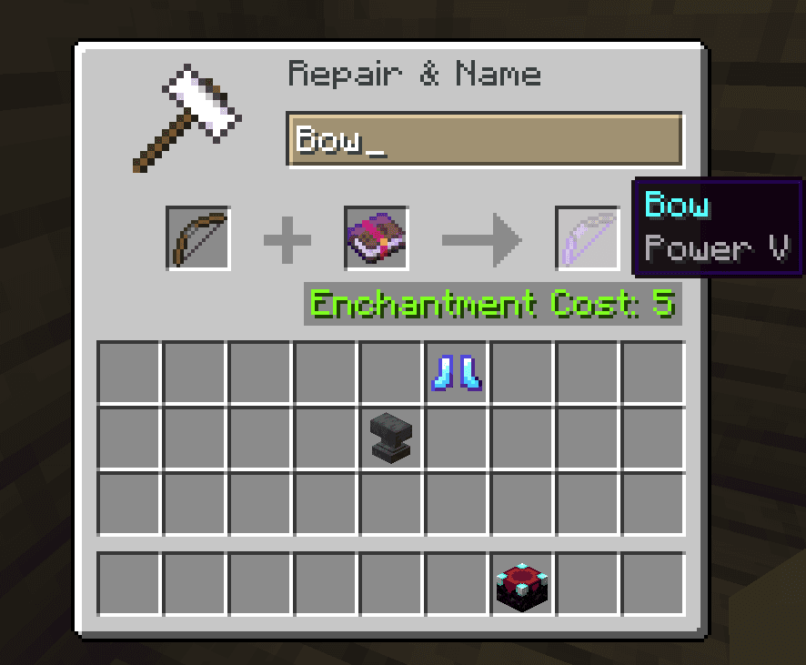 power best bow enchantments minecraft