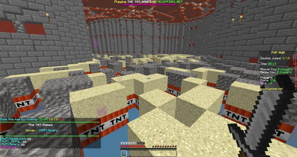 pvp servers minecraft the best game