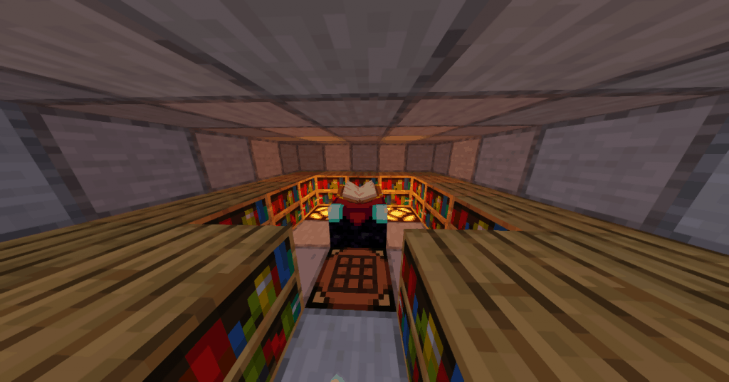 redstone on layout best enchanting room minecraft