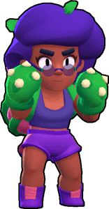 rosa, one of the best brawlers in brawl stars