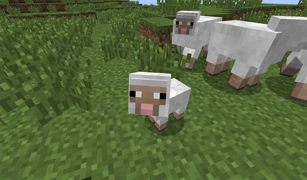 sheeps best animals to farm minecraft