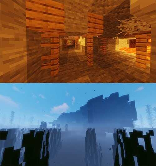 shipwreck mineshafts best island seeds minecraft