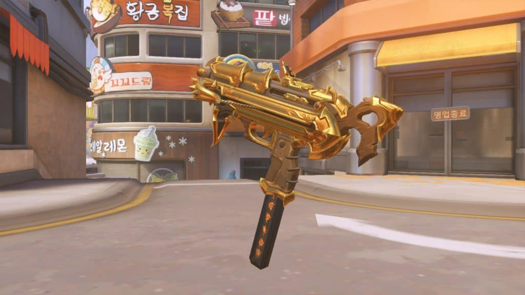 sombra golden gun overwatch