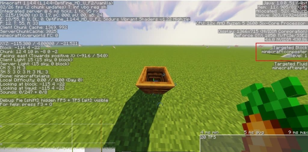 what does a minecraft composter do