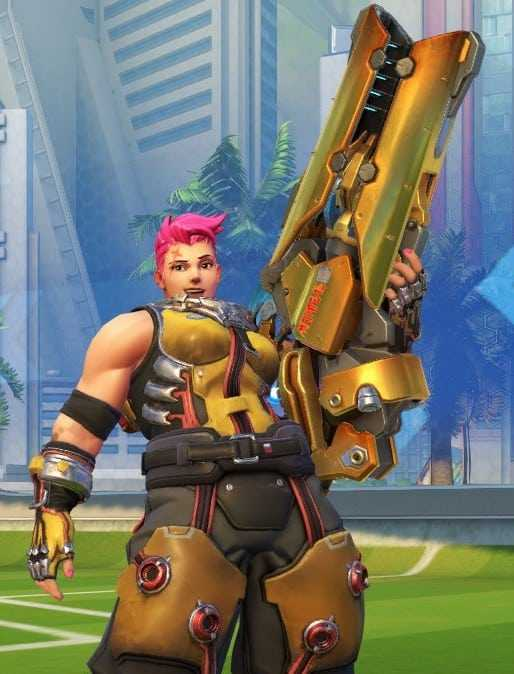 zarya golden gun weapon overwatch