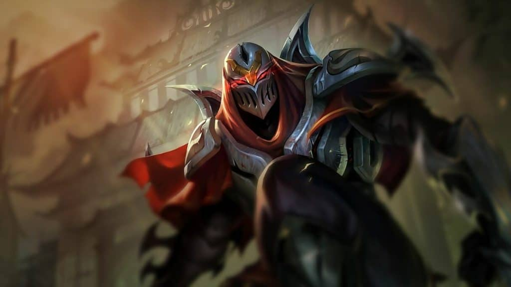 zed best pusher league of legends